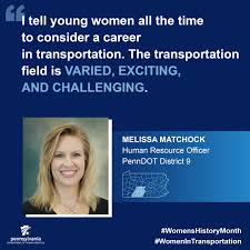 women in transportation if one dedicates themselves to learning then the opportunities for advancement and the variety of career options here are seemingly endless