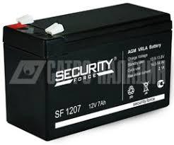 <b>Аккумулятор</b> 12В 7 А∙ч (SF 1207) <b>Security Force</b> купить в Москве ...