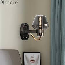 Купить <b>nordic</b> glass wall lights <b>led</b> sconce loft industrial mirror wall ...