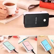 Portable <b>Mini</b> Electric USB <b>Desktop Heater</b> Office Winter Handheld ...