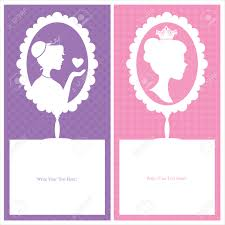 birthday princess template stock illustrations cliparts and birthday princess template princess card templates
