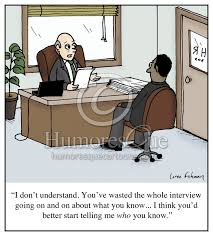 cartoon i don t understand you ve wasted the whole interview job interview networking cartoon