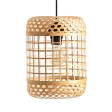 <b>Светильник</b> из натурального <b>бамбука</b>, h28 cm, cordo ...