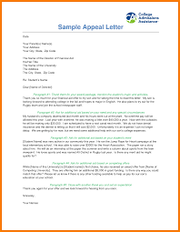 financial aid appeal letter sample reinstatement case 5 financial aid appeal letter sample reinstatement