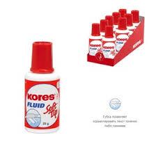 <b>Корректирующая жидкость KORES</b> FLUID, 20 мл, на ...