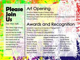 fine arts week 2016 west high school 2015 fine arts week photos