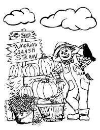 Small Picture Pumpkin Patch Coloring Pages Pumpkin Patch Coloring Page Printable