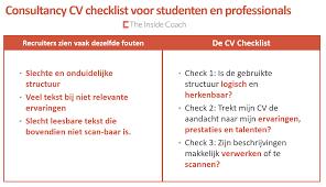 cv the inside coach consultancy cv
