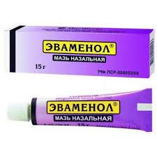 <b>Эваменол</b> (<b>мазь</b> от насморка) <b>15г</b> купить в Москве по цене от 51 ...