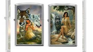 Зажигалка Zippo <b>Девушка и волки</b> купить в Москве | Хобби и ...