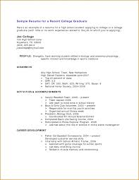 sample resumes college athlete resume examples resume in