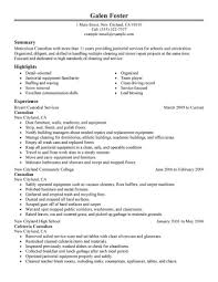 janitorial resume example resume for janitorial services sample resume template resume template resume sample janitor cover letter sample resume for janitorial worker sample resume