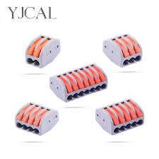 <b>25/50</b>/<b>100PCS YJCAL Mini</b> Electrical Wiring Connectors Cage ...