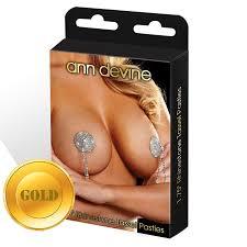 <b>Ann Devine</b> «Gold Tassel Pasties» золотистые <b>яркие</b> блестящие ...