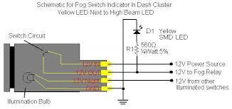 fog light wiring diagram toyota fog image wiring diy fog light indicator in dash cluster toyota fj cruiser forum on fog light wiring diagram