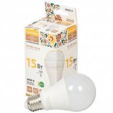 <b>Лампа светодиодная</b> TDM Electric <b>Груша</b> SQ0340-1515 15 Вт E27 ...