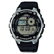 Купить <b>часы Casio</b> Collection <b>Ae</b>-<b>2100w</b>-<b>1a</b> Black/Grey в интернет ...
