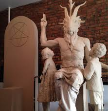Decoding the symbols on Satan's statue - BBC News