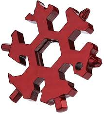 GEQWE Bottle Opener 19 in 1 <b>Multifunction</b> EDC <b>Snowflakes</b> ...