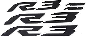 Amazon.com: PRO-<b>KODASKIN</b> Motorcycle 3D Raise R3 Emblem ...