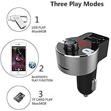 FirstE <b>Bluetooth FM Transmitter</b> Car FM <b>Bluetooth</b> Transmitter Hands ...