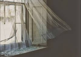 Image result for pictures of curtained windows whispering eerie
