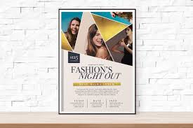 event flyer diy printable fashion week geometric event flyer template for church school university fashion show feminine