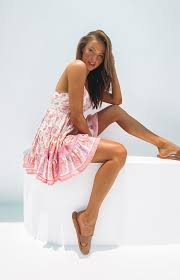 Edna <b>Boho Dress Pink</b> Print – Beginning Boutique