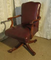 page load time 013 seconds antique leather office chair