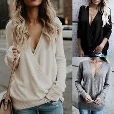 Autumn Winter <b>New Women s</b> Fashion Casual Warm Tops Loose ...