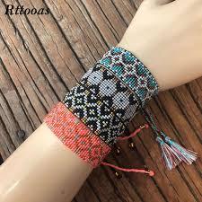 <b>Rttooas</b> MIYUKI Beads Friendship Bracelet Women Jewelry High ...