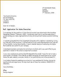 Internship Application Letter Sample   example of job cover letter for resume