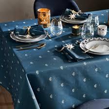 <b>Скатерть</b>, éventail bleu синий/наб. рисунок <b>La Redoute</b> Interieurs ...