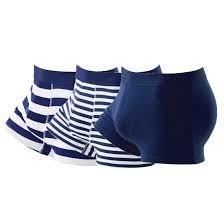 3 <b>трусов</b>-<b>шортов</b> синий + в синюю полоску <b>La Redoute</b> Collections ...