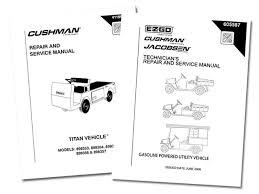 buy genuine golf cart repair manuals direct from e z go e z go utility vehicle repair manuals