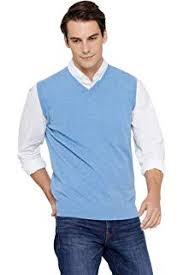 Cashmeren Men's Classic Knit Sleeveless Sweater Vest <b>100</b>% <b>Pure</b>