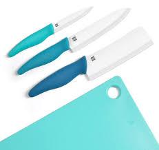 <b>Набор</b> керамических <b>ножей с разделочной</b> доской Xiaomi Huo Hou