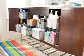 bathroom drawer organization: while some drawers are the perfect size for holding tall items like jumbo bottles of shampoo she set aside others by theme first aid items washcloths