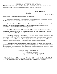 friendly letter format how to write a friendly letter samples friendly letter example 02