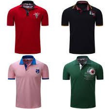 Fashion <b>Men's</b> Embroidery Polo Shirt Short Sleeve Casual Plain T ...