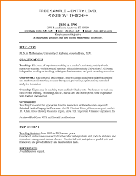 entry level elementary teacher resume normal bmi chart entry level elementary teacher resume teacher resumes templates jpg