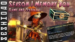 Guild Wars 2: Opening 30 Season 1 Memory Boxes - Flame And ...