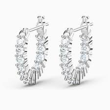 <b>Crystal</b> Hoop Earrings » Colorful & Clear | <b>Swarovski</b>