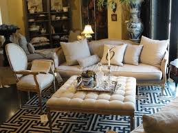 Upholstery Living Room Furniture Ottoman Coffee Table Luxurious Living Room Furniture Cream Velvet