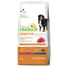 <b>Natural Trainer Sensitive No</b> Gluten Adult Lamb|Dog Feeding ...
