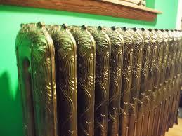 painted bedroom radiator