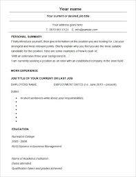 sample modern resume cv template sample modern resume