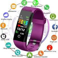 Gift <b>LIGE 2019 New</b> Men <b>Women</b> Smart Sport Watch Fitness Tracker ...