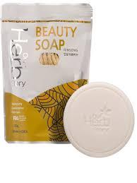 <b>Мыло</b>-<b>пенка</b> для умывания с женьшенем beauty soap ginseng 100 ...