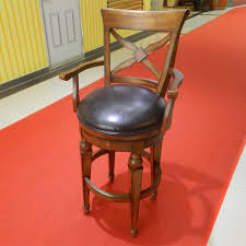 commercial office furniture quality birch wood bar stool bar chair classic leather cheap wholesale birch office furniture